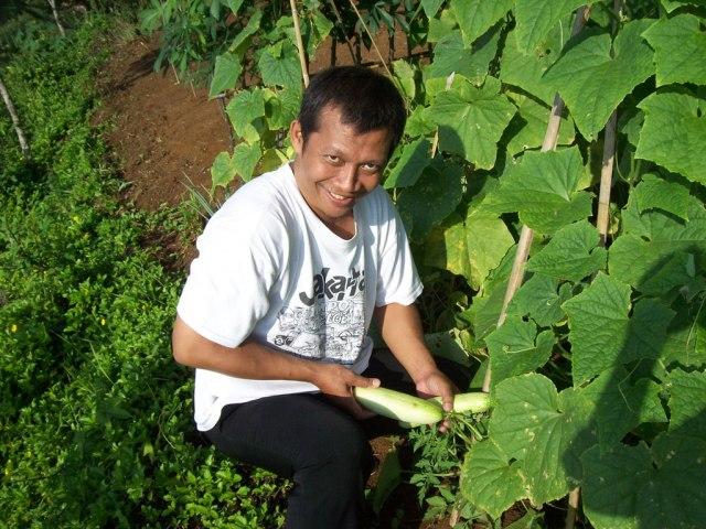 Waduh.. habis terjun bebas, kini Pak Toro menjarah hasil panen warga dengan modal 50ribu. ^_^